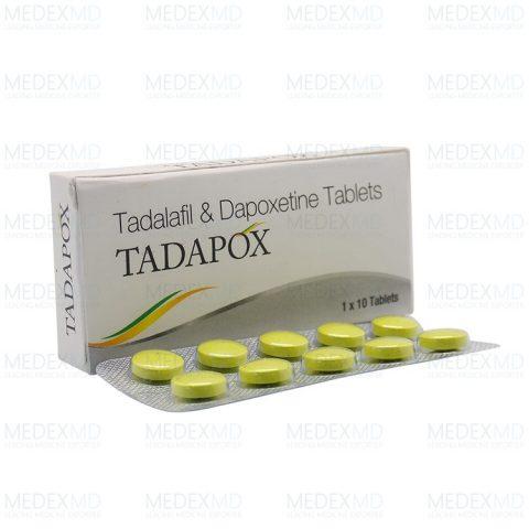 Buy Tadapox Online | Tadapox (tadalafil+dapoxetine) 80mg ...